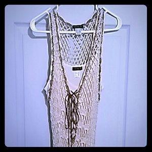 Crochet Dress with liner